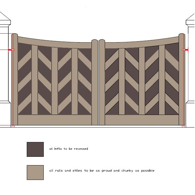 Ipe gate drawing Main